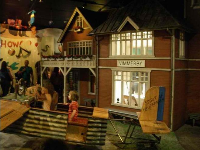 Muzeum bohaterów literatury dziecięcej Junibacken